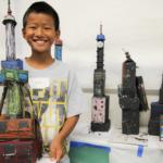 Camper builds model