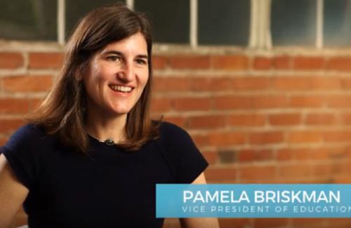 Pamela Briskman, Vice President of Education