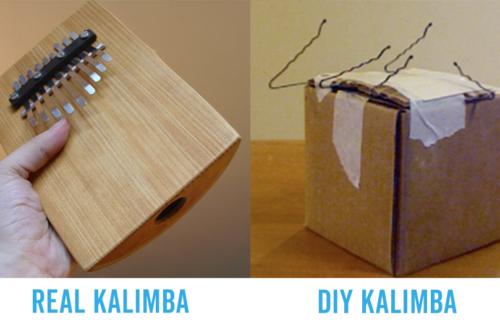 DIY: Make a Kalimba