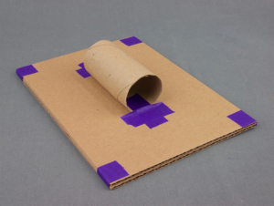 Make a cardboard handle