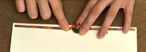 Make a positive battery plate
