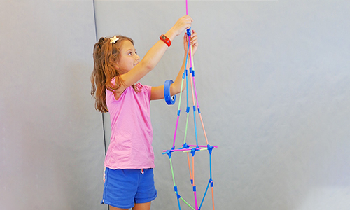 DIY for Kids: Build a Straw Tower