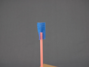 Step 1: Get your uprights ready for your straw tower