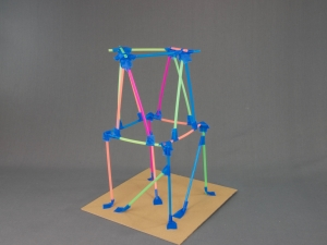 Step 5: Build your straw tower taller