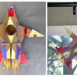 Camp Galileo Anywhere | Cardboard Designers: Stellar Spaceships - Live Online Classes for 4th & 5th graders