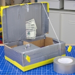Camp Galileo Anywhere - Online Classes for Kids - Make a Duct Tape Treasure Box
